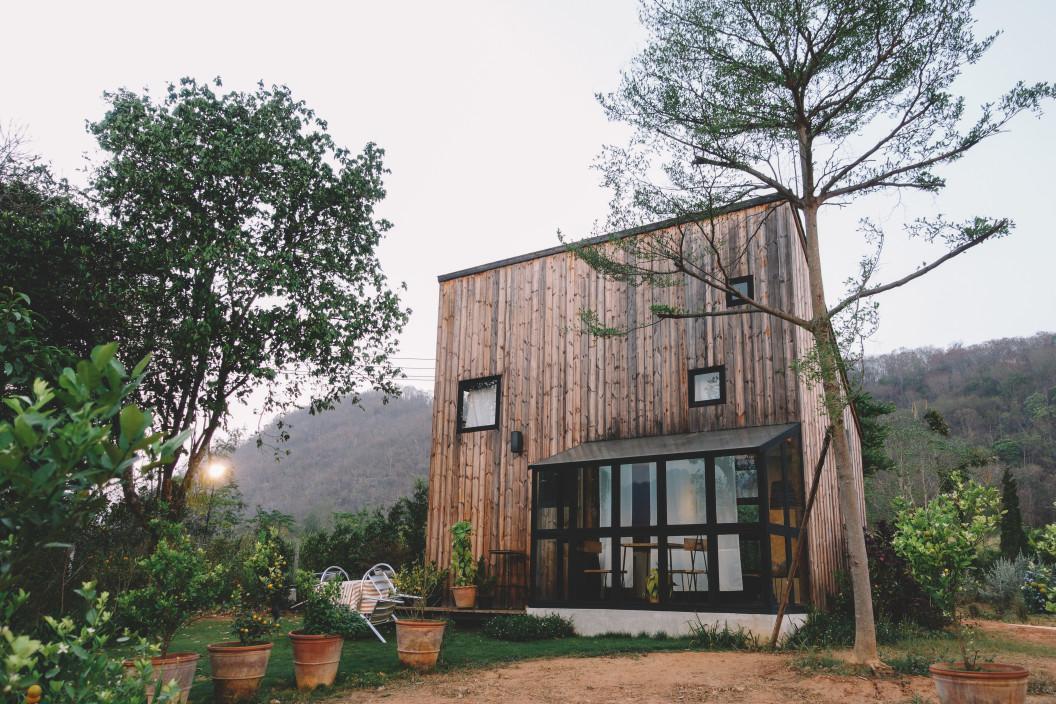 Casa de madera prefabricada