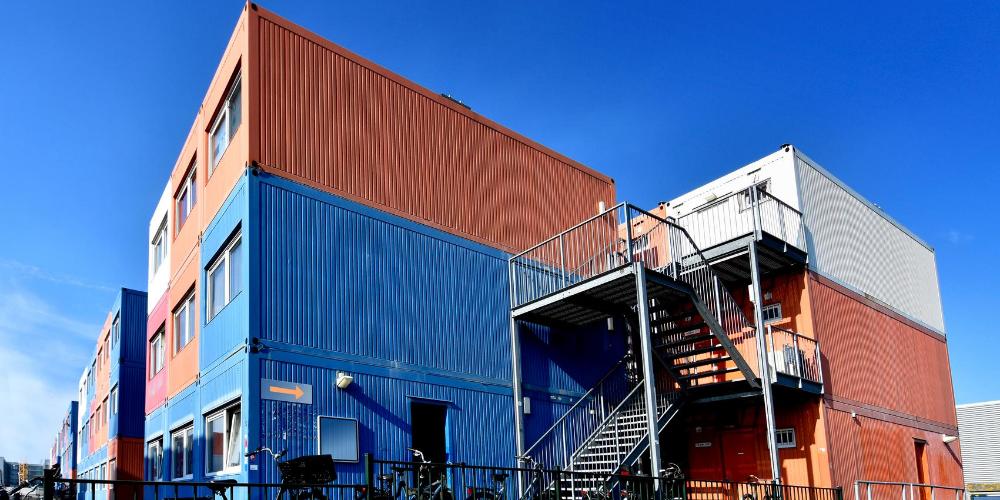 edificio container