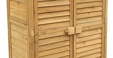 Caseta de madera armario