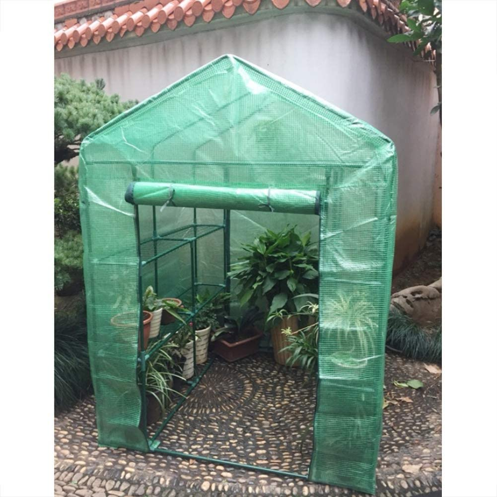 Caseta invernadero de jardín