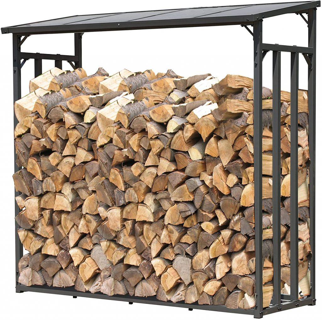 Caseta leñera madera