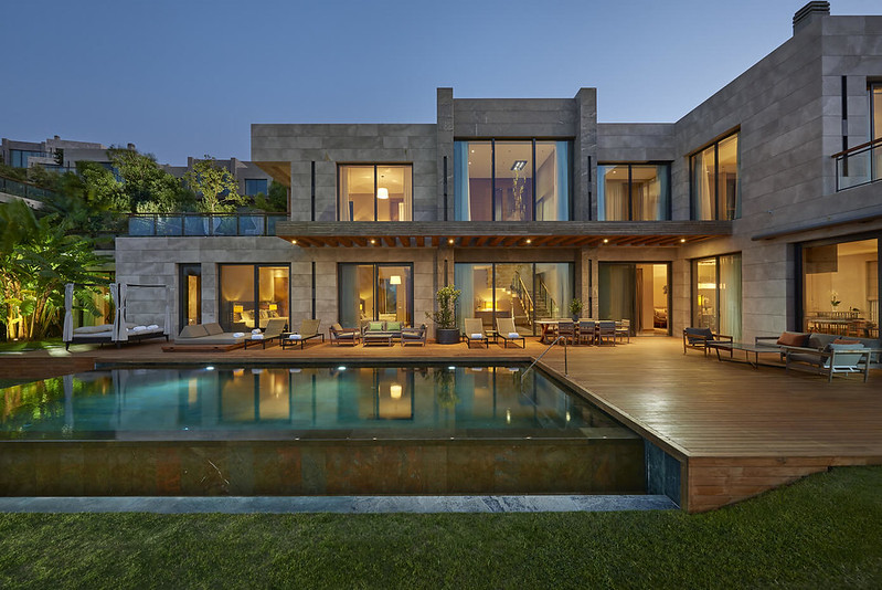Casa piscina Bodrum Turquía