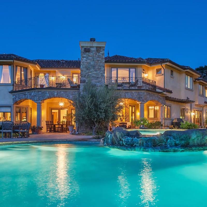casa piscina california