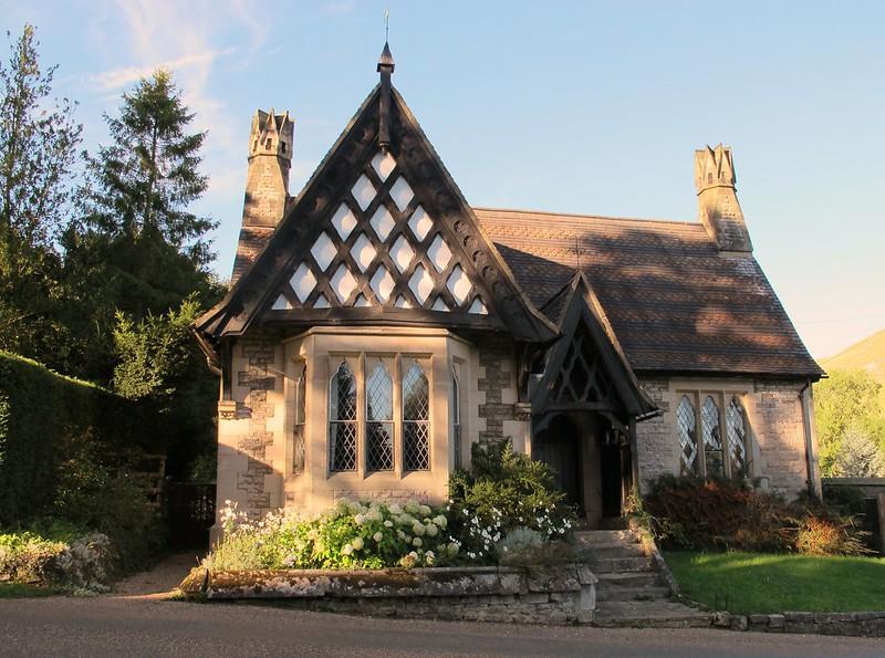 casa inglesa de campo
